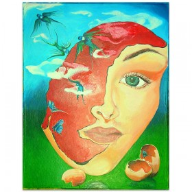 Free UR mind - schildering