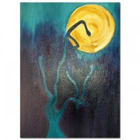 Maan - schildering