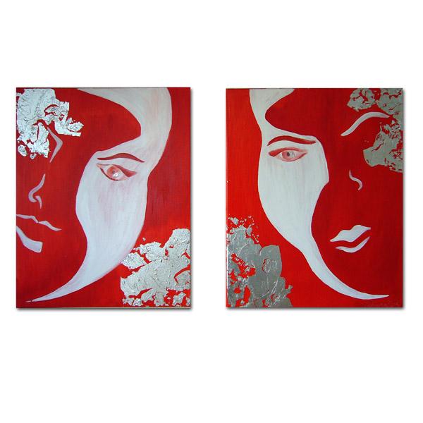 Tweeluik - portretten